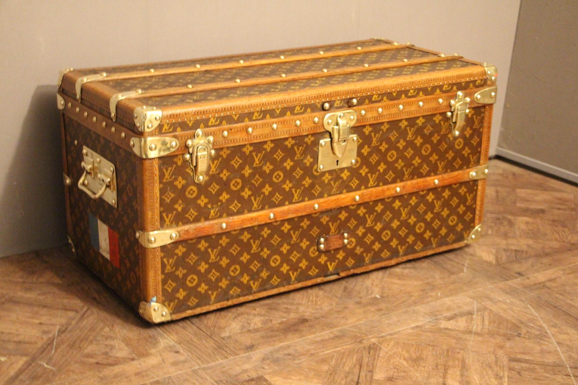 1910s Louis Vuitton Shoe Trunk,Louis Vuitton Trunk,Louis Vuitton